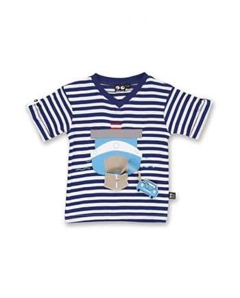 ubang ferry tshirt marineblue blauw