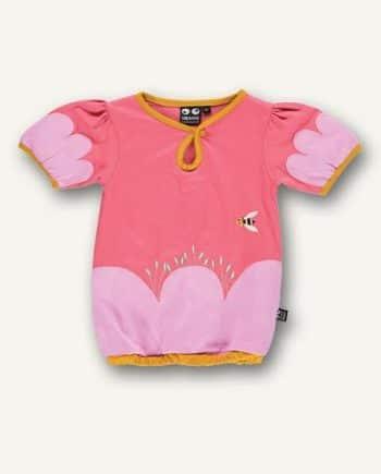 ubang shirtje meisjes roze bijtje 01